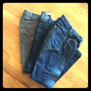 Boys Skinny Fit Jeans - Size 12R